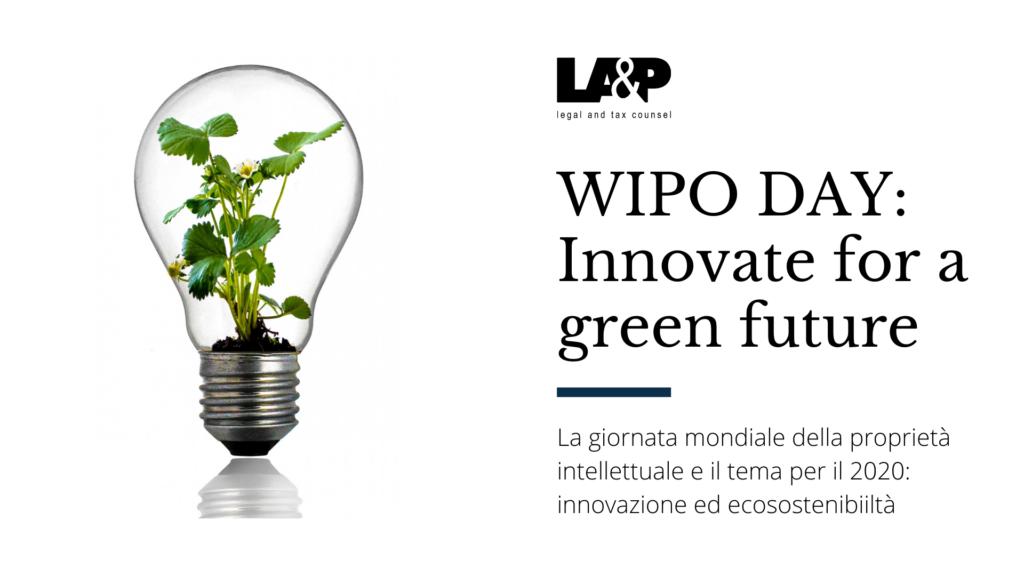 WIPO DAY - ecosostenibilità